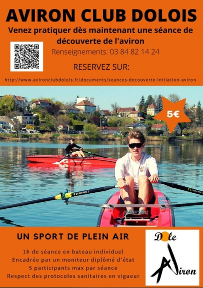 Initiation d'Aviron à Dole