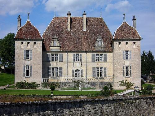 Château de Filain, замки Франш-Конте, достопримечательности Франции